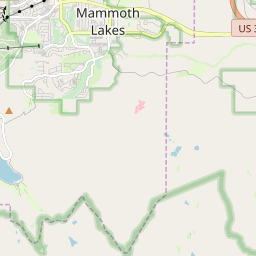 Map of Mammoth Mountain