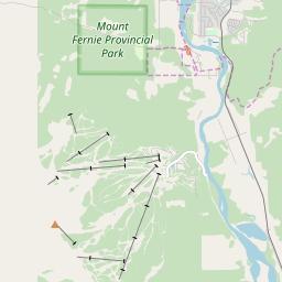 Map of Fernie