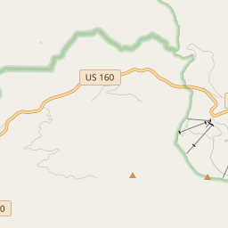 Map of Wolf Creek