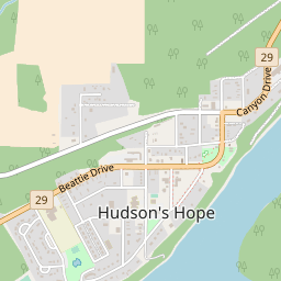 Hope Canada Map.Hudson Hope Hotels And Apartments J2ski