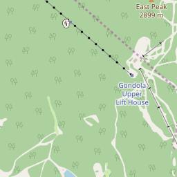 Heavenly Map - Resort & Accommodation Location | J2Ski on