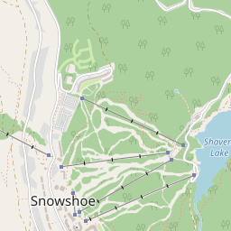Snowshoe Map - Resort & Accommodation Location | J2Ski on snowshoe wv, babcock state park map, cass scenic railroad map, snowshoe lodging, snowshoe village, snoqualmie valley trail map, holly river state park map, snowshoe restaurants, snowshoe western territory, snowshoe mountain,