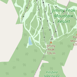 Bro Mountain Map - Resort & Accommodation Location | J2Ski on
