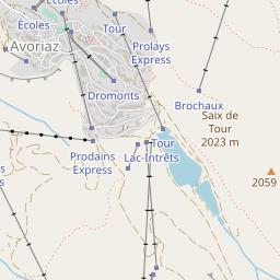 Avoriaz Piste Map | J2Ski