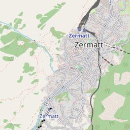 Zermatt Map - Resort & Accommodation Location | J2Ski on
