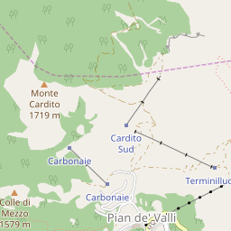 Terminillo Map - Resort & Accommodation Location | J2Ski