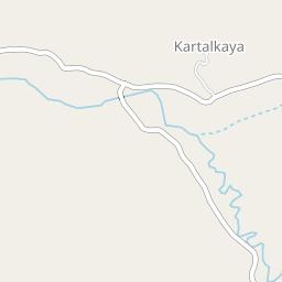 Kartalkaya Resort And Accommodation Location Map J2ski