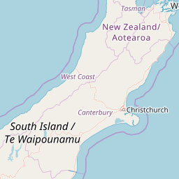 Map Of New Zealand Christchurch.New Zealand Ski Resort And Airport Map J2ski