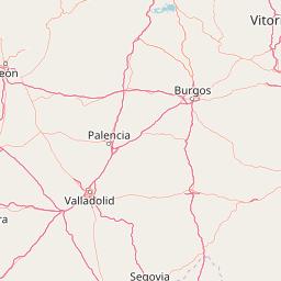 Map Of Spain Rioja.Map Of 2 Ski Areas In La Rioja Spain J2ski