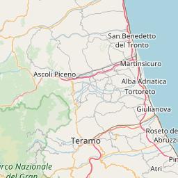 Aquila Italy Map.Map Of 9 Ski Areas In L Aquila Italy J2ski